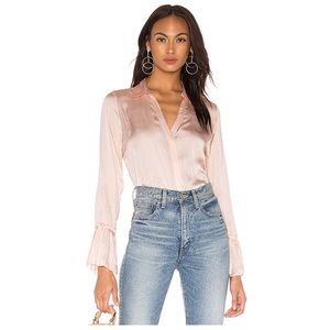 PAIGE DENIM ABRIANA FLARE CUFF BLOUSE 💖IN STORES